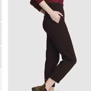Kit & Ace Mulberry pants black grey size 0
